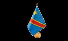 Tischflagge Demokratische Republik Kongo - 15 x 22 cm
