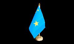 Tischflagge Demokratische Republik Kongo alt - 15 x 22 cm