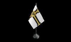 Tischflagge Deutscher Orden Hochmeister - 10 x 15 cm