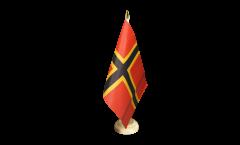 Tischflagge Deutscher Widerstand Stauffenberg - 15 x 22 cm
