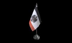 Tischflagge Deutsches Reich Kaiserreich 1871-1918 - 10 x 15 cm