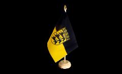 Tischflagge Deutschland Baden-Württemberg - 15 x 22 cm