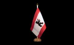 Tischflagge Deutschland Berlin - 15 x 22 cm