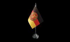 Tischflagge Deutschland DDR Nationale Volksarmee NVA - 10 x 15 cm