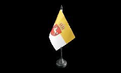 Tischflagge Deutschland Königreich Hannover 1814-1866 - 10 x 15 cm
