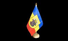 Tischflagge Deutschland Mecklenburg alt - 15 x 22 cm