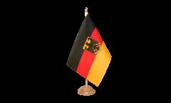 Tischflagge Deutschland mit Adler - 10 x 15 cm