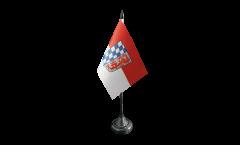 Tischflagge Deutschland Niederbayern - 10 x 15 cm