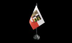 Tischflagge Deutschland Oberfranken - 10 x 15 cm