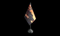 Tischflagge Deutschland Ruhrpott Ruhrgebiet - 10 x 15 cm