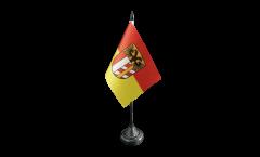 Tischflagge Deutschland Schwaben - 10 x 15 cm