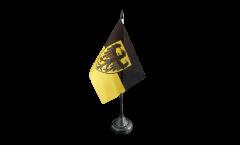 Tischflagge Deutschland Stadt Aachen - 10 x 15 cm