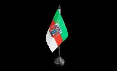 Tischflagge Deutschland Stadt Aschaffenburg