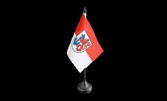 Tischflagge Deutschland Stadt Düsseldorf - 10 x 15 cm