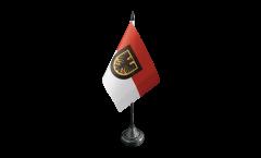 Tischflagge Deutschland Stadt Dortmund - 10 x 15 cm