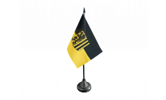 Tischflagge Deutschland Stadt Dresden - 10 x 15 cm