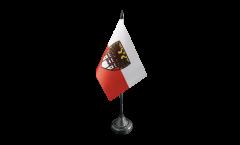 Tischflagge Deutschland Stadt Duisburg - 10 x 15 cm
