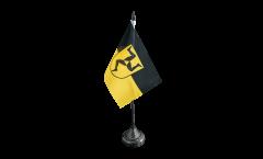 Tischflagge Deutschland Stadt Füssen - 10 x 15 cm