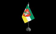 Tischflagge Deutschland Stadt Hamburg Garten - 10 x 15 cm