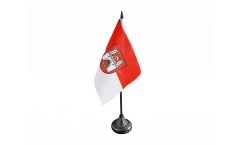 Tischflagge Deutschland Stadt Hannover