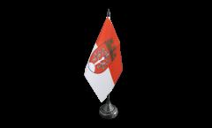 Tischflagge Deutschland Stadt Herdecke - 10 x 15 cm