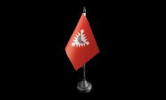 Tischflagge Deutschland Stadt Kiel - 10 x 15 cm