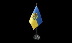 Tischflagge Deutschland Stadt Leipzig - 10 x 15 cm