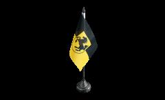 Tischflagge Deutschland Stadt Stuttgart - 10 x 15 cm