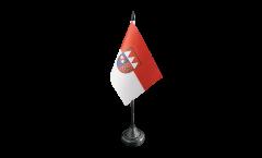 Tischflagge Deutschland Unterfranken - 10 x 15 cm