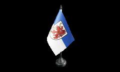 Tischflagge Deutschland Vorpommern - 10 x 15 cm