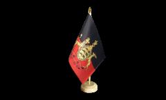 Tischflagge Deutschland Württemberg - 15 x 22 cm