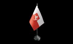 Tischflagge Deutschland Westfalen - 10 x 15 cm