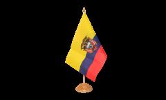 Tischflagge Ecuador - 15 x 22 cm