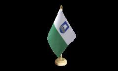 Tischflagge Estland Saaremaa - 15 x 22 cm