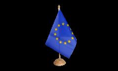 Tischflagge Europäische Union EU - 15 x 22 cm