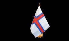 Tischflagge Färöer-Inseln - 15 x 22 cm