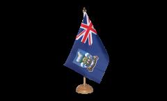 Tischflagge Falkland Inseln - 15 x 22 cm