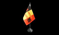 Tischflagge Fanflagge Belgien Rode Duivels - 10 x 15 cm