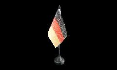 Tischflagge Fanflagge Deutschland Nationalhymne