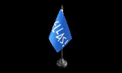 Tischflagge Fanflagge Griechenland HELLAS! - 10 x 15 cm