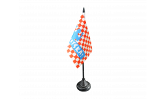 Tischflagge Fanflagge Kroatien HRVATSKA! - 10 x 15 cm