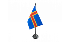 Tischflagge Finnland Aland Inseln - 10 x 15 cm