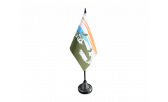 Tischflagge Fishing - Angeln - 10 x 15 cm