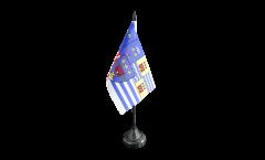 Tischflagge Frankreich Évry