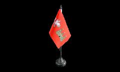 Tischflagge Frankreich Agen - 10 x 15 cm