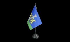 Tischflagge Frankreich Ajaccio - 10 x 15 cm