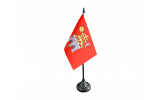 Tischflagge Frankreich Albi - 10 x 15 cm
