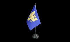 Tischflagge Frankreich Alençon - 10 x 15 cm