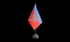 Tischflagge Frankreich Amiens - 10 x 15 cm