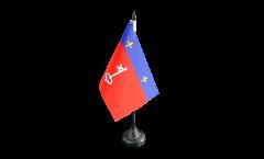Tischflagge Frankreich Angers